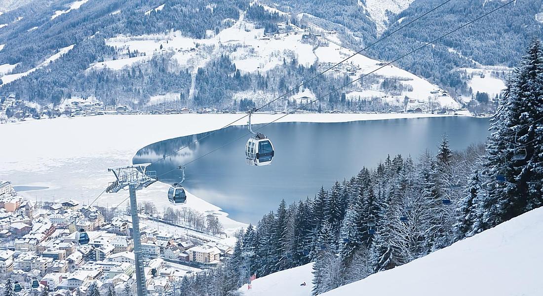 Отдых на горнолыжных склонах  Австрии!